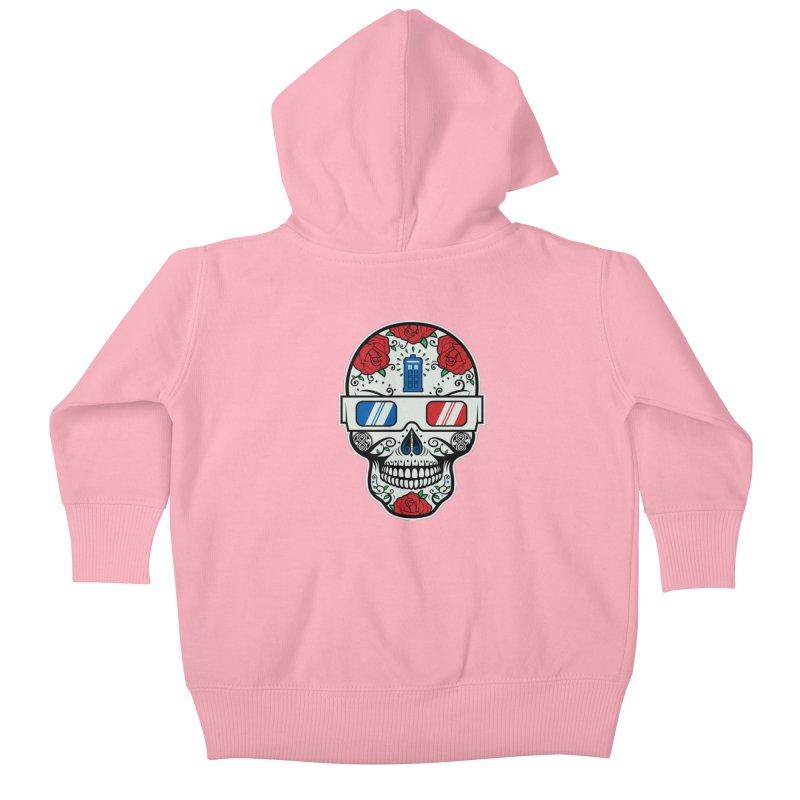 De Las Diez Kids Baby Zip-Up Hoody by machmigo1's Artist Shop