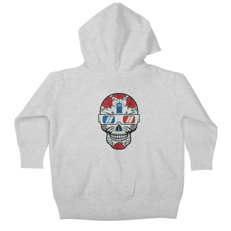 De Las Diez Kids Baby Zip-Up Hoody by machmigo1's Artist Shop