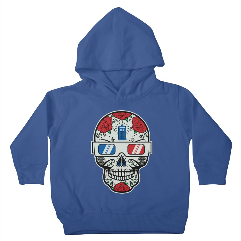De Las Diez Kids Toddler Pullover Hoody by machmigo1's Artist Shop