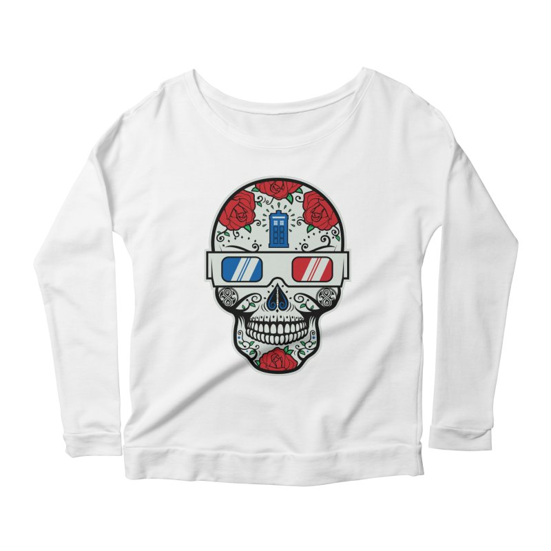 De Las Diez Women's Scoop Neck Longsleeve T-Shirt by machmigo1's Artist Shop