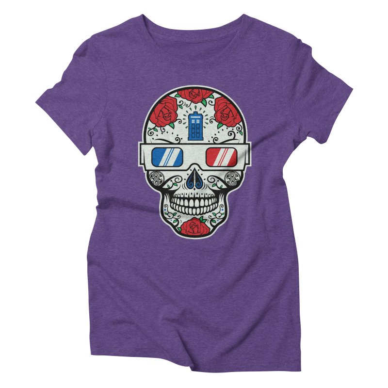 De Las Diez Women's Triblend T-Shirt by machmigo1's Artist Shop