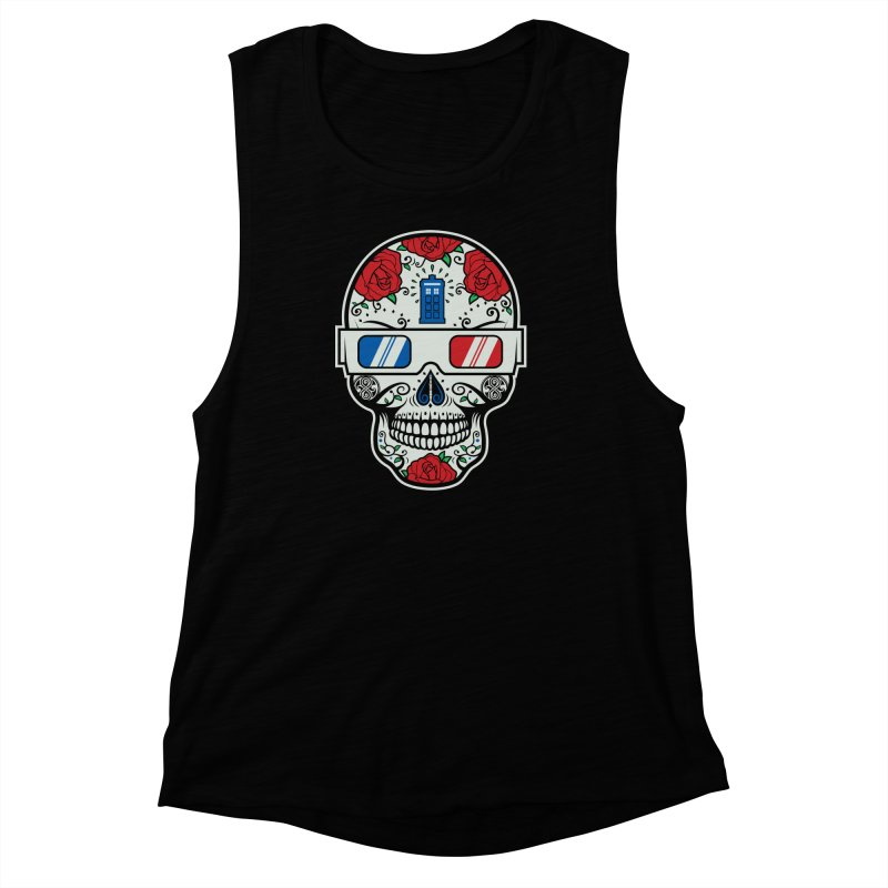 De Las Diez Women's Muscle Tank by machmigo1's Artist Shop