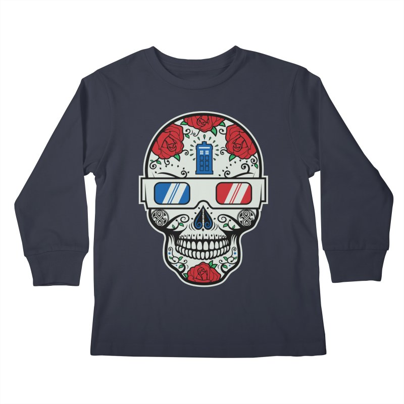 De Las Diez Kids Longsleeve T-Shirt by machmigo1's Artist Shop