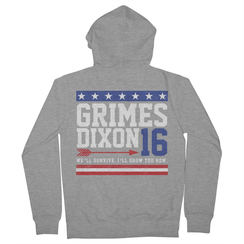 Grimes 2016 Women's French Terry Zip-Up Hoody by machmigo1's Artist Shop