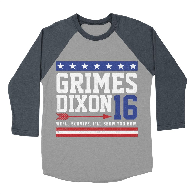 Grimes 2016 Women's Baseball Triblend Longsleeve T-Shirt by machmigo1's Artist Shop