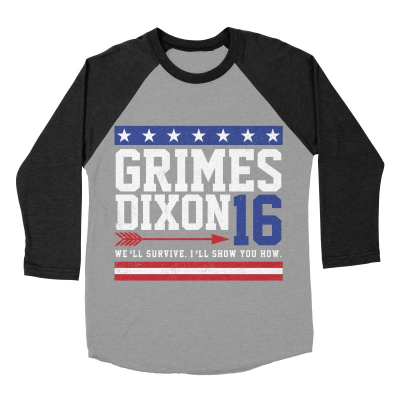 Grimes 2016 Men's Baseball Triblend Longsleeve T-Shirt by machmigo1's Artist Shop