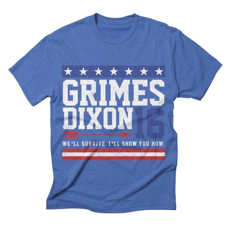 Grimes 2016 Men's Triblend T-shirt by machmigo1's Artist Shop