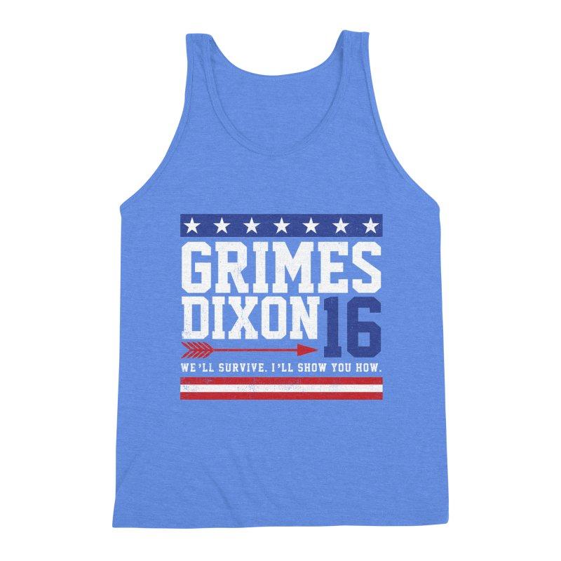 Grimes 2016 Men's Triblend Tank by machmigo1's Artist Shop