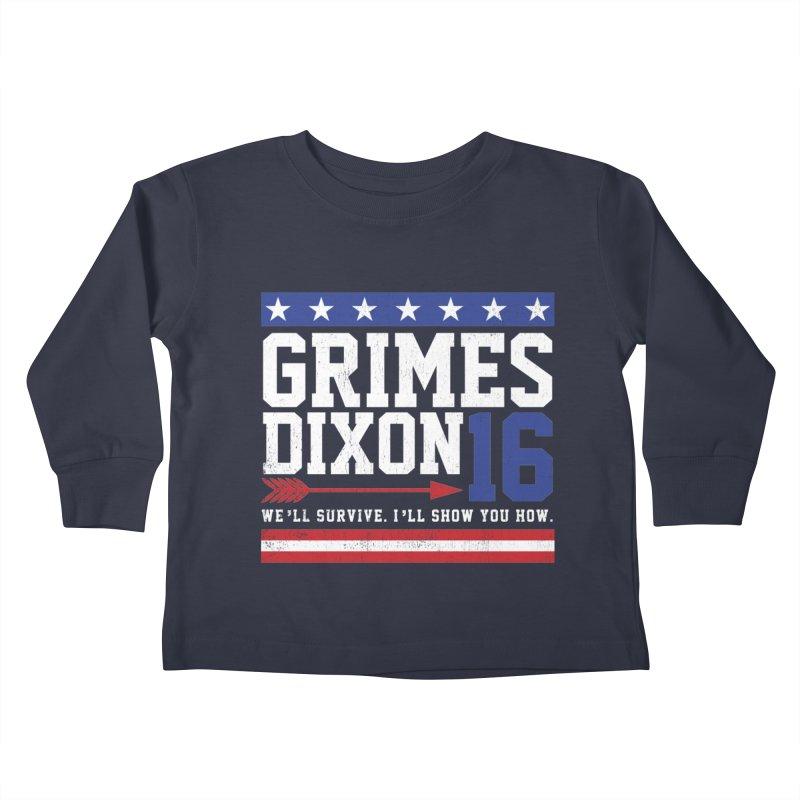 Grimes 2016 Kids Toddler Longsleeve T-Shirt by machmigo1's Artist Shop