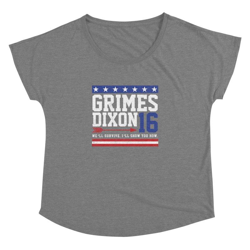 Grimes 2016 Women's Dolman Scoop Neck by machmigo1's Artist Shop