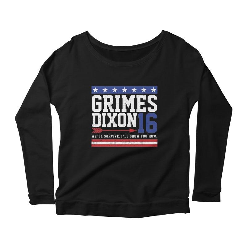Grimes 2016 Women's Scoop Neck Longsleeve T-Shirt by machmigo1's Artist Shop