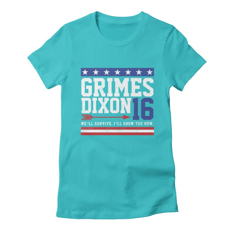 Grimes 2016 Women's Fitted T-Shirt by machmigo1's Artist Shop