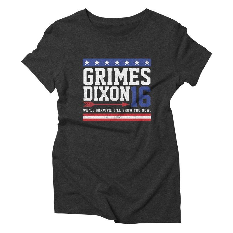 Grimes 2016 Women's Triblend T-shirt by machmigo1's Artist Shop