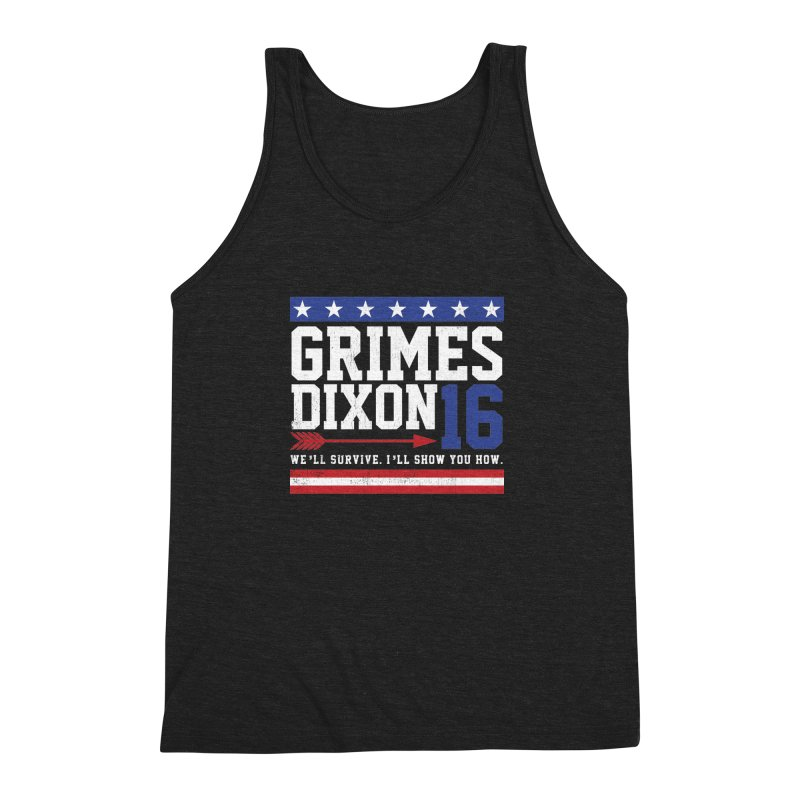 Grimes 2016 Men's Triblend Tank by machmigo1's Artist Shop