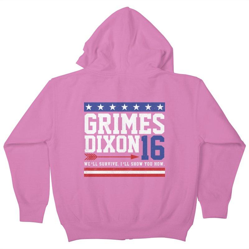 Grimes 2016 Kids Zip-Up Hoody by machmigo1's Artist Shop