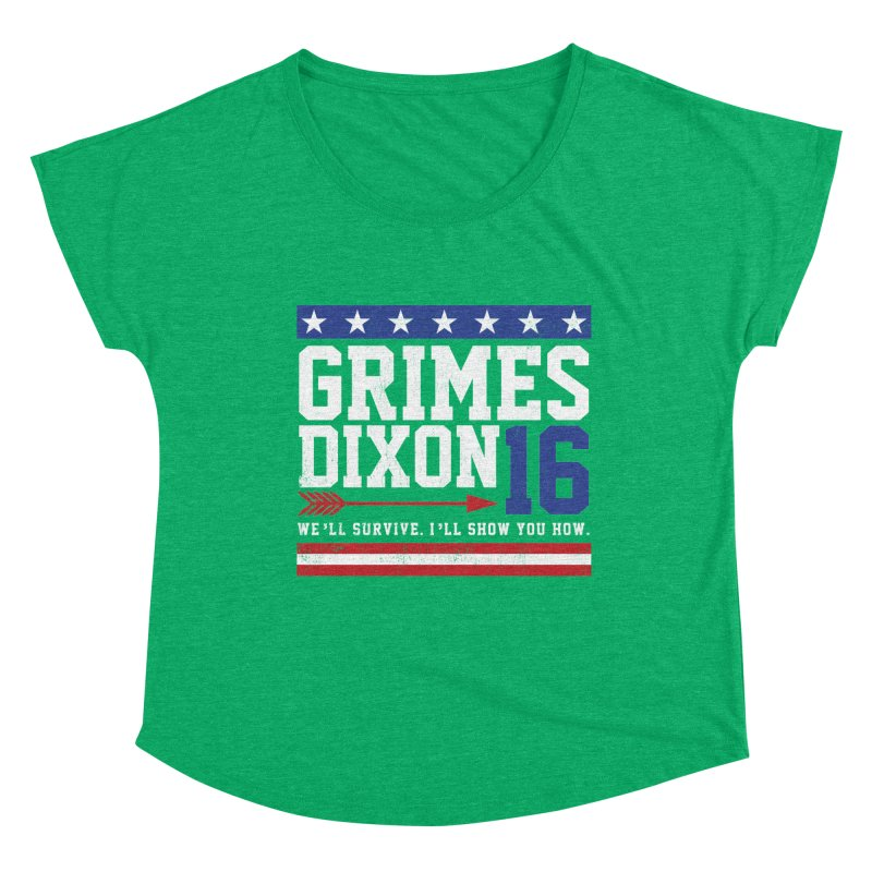 Grimes 2016 Women's Scoop Neck by machmigo1's Artist Shop