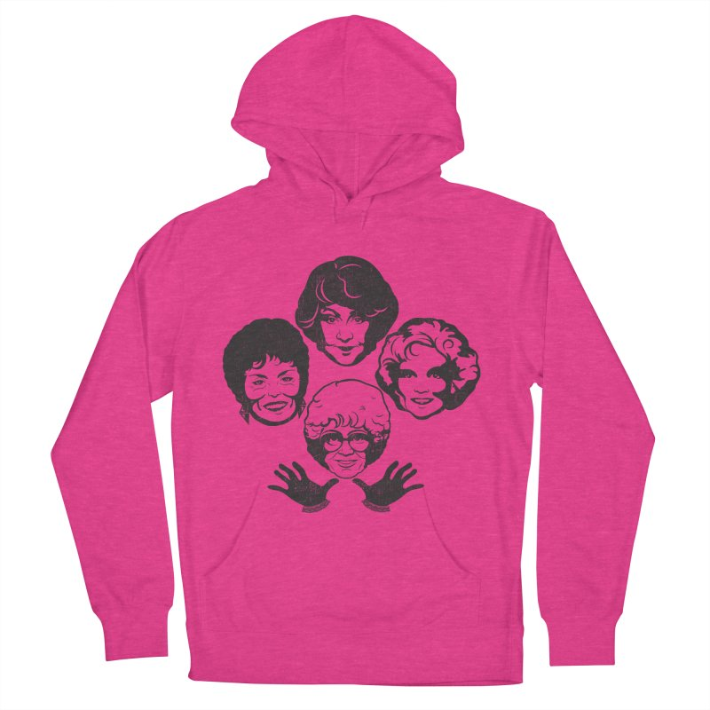 Miami Royalty Women's French Terry Pullover Hoody by machmigo1's Artist Shop