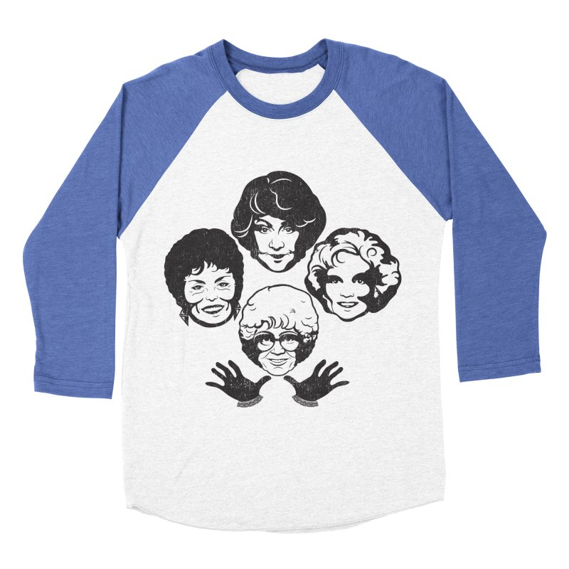 Miami Royalty Women's Baseball Triblend Longsleeve T-Shirt by machmigo1's Artist Shop