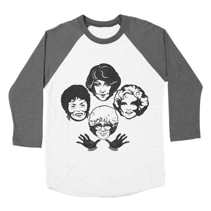 Miami Royalty Men's Baseball Triblend T-Shirt by machmigo1's Artist Shop