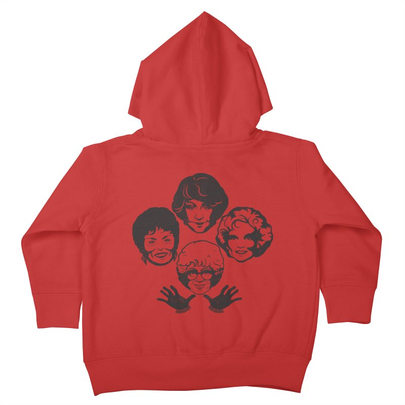 Miami Royalty Kids Toddler Zip-Up Hoody by machmigo1's Artist Shop