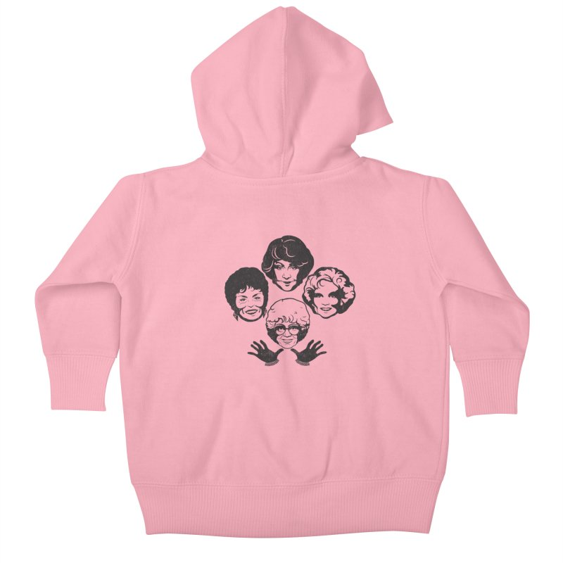 Miami Royalty Kids Baby Zip-Up Hoody by machmigo1's Artist Shop