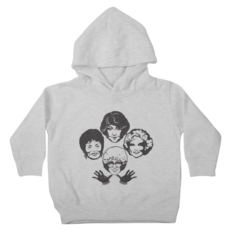 Miami Royalty Kids Toddler Pullover Hoody by machmigo1's Artist Shop