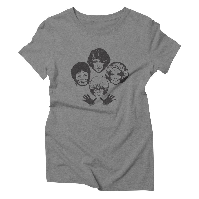 Miami Royalty Women's Triblend T-Shirt by machmigo1's Artist Shop