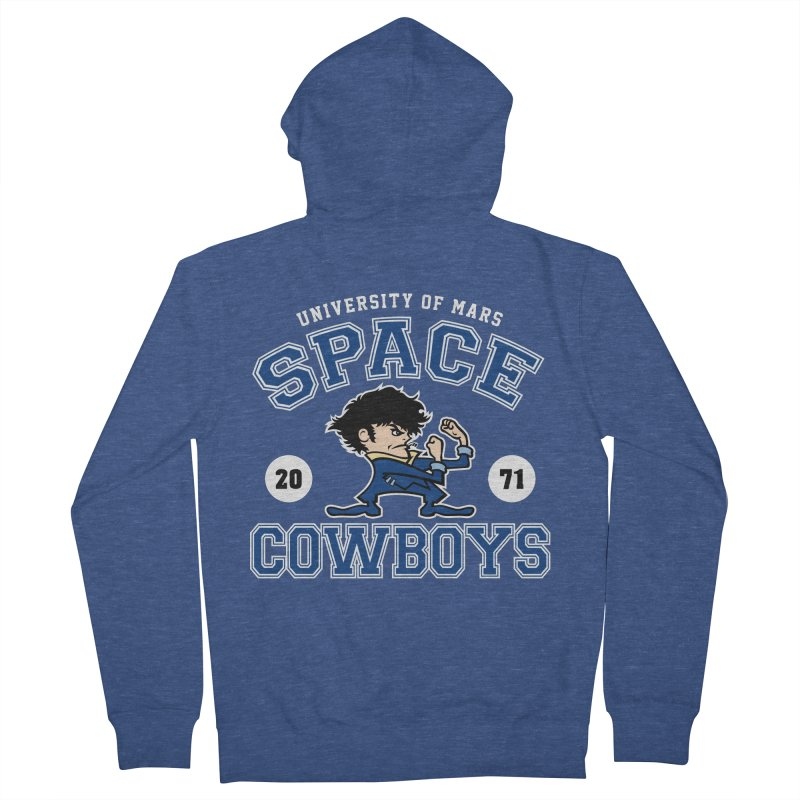 Space Cowboys Women's French Terry Zip-Up Hoody by machmigo1's Artist Shop
