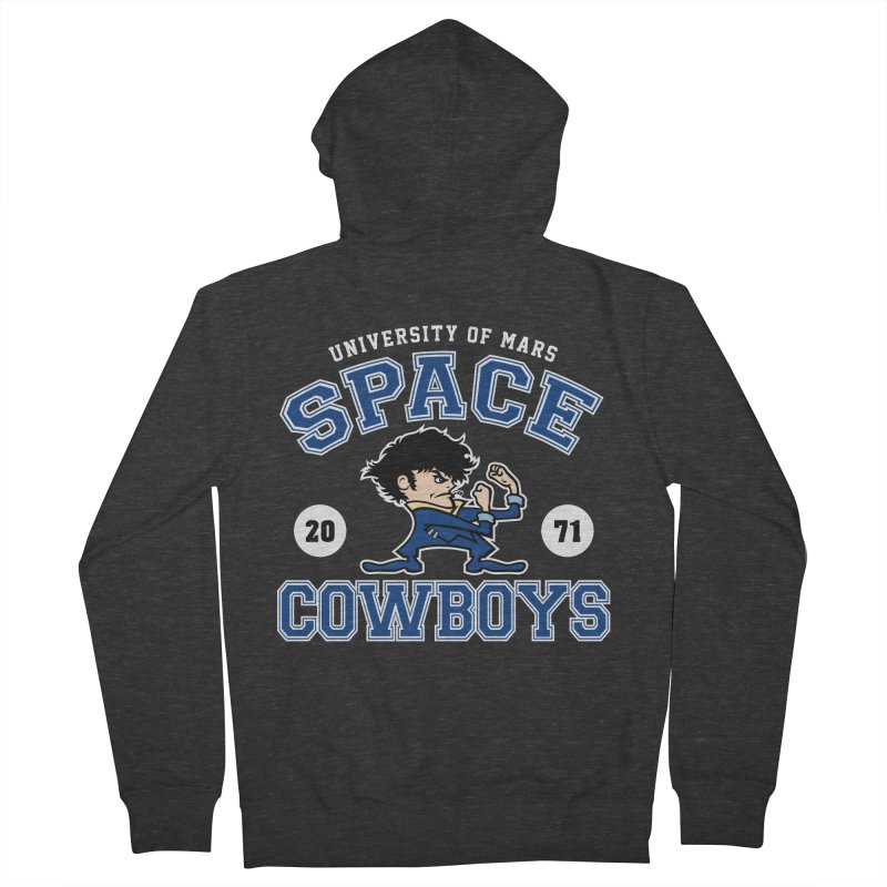 Space Cowboys Men's French Terry Zip-Up Hoody by machmigo1's Artist Shop