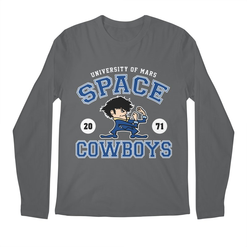 Space Cowboys Men's Longsleeve T-Shirt by machmigo1's Artist Shop