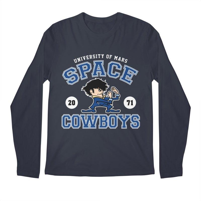 Space Cowboys Men's Regular Longsleeve T-Shirt by machmigo1's Artist Shop