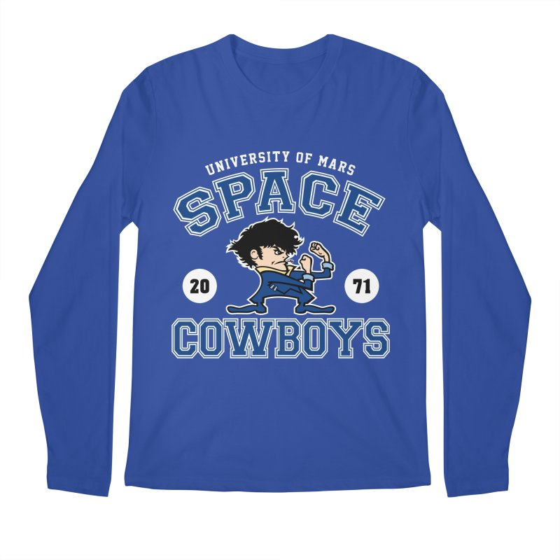 Space Cowboys Men's Regular Longsleeve T-Shirt by machmigo1's Artist Shop
