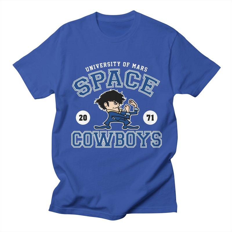 Space Cowboys Men's Regular T-Shirt by machmigo1's Artist Shop