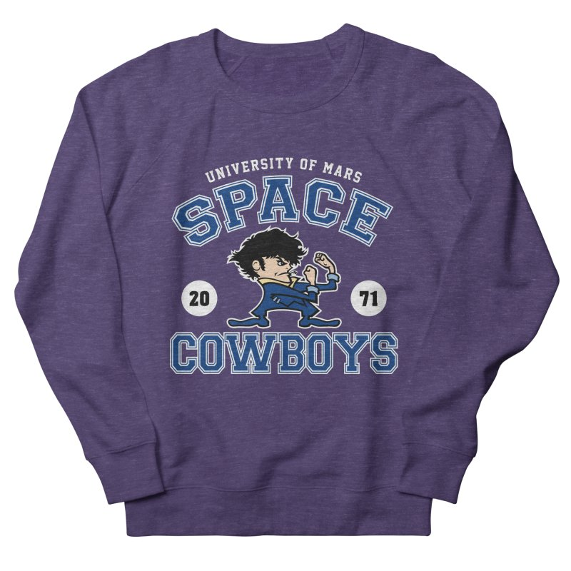 Space Cowboys Women's French Terry Sweatshirt by machmigo1's Artist Shop