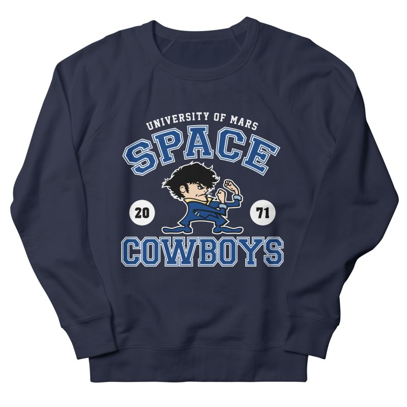 Space Cowboys Men's French Terry Sweatshirt by machmigo1's Artist Shop