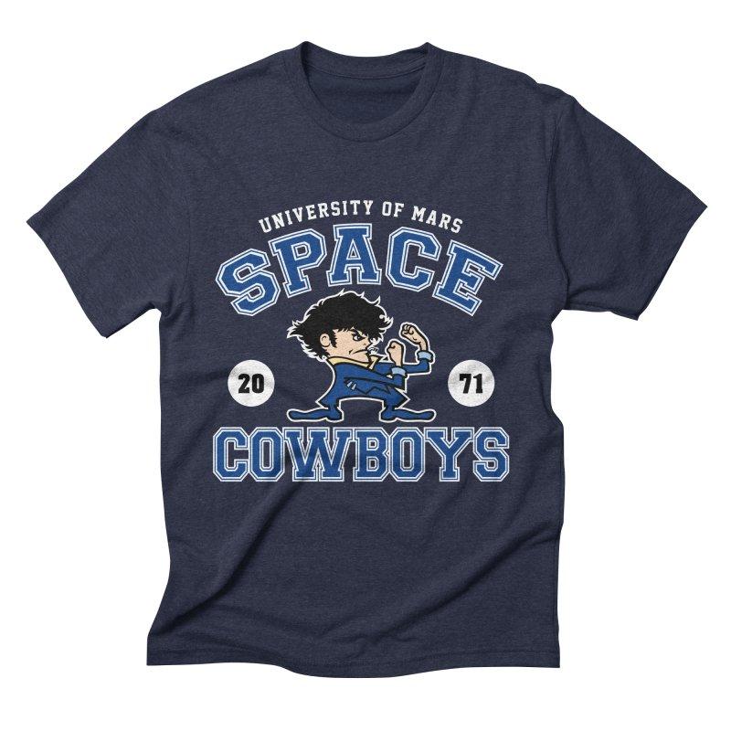 Space Cowboys Men's Triblend T-Shirt by machmigo1's Artist Shop