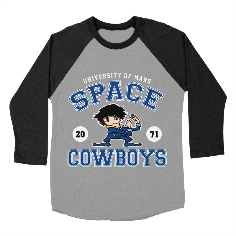 Space Cowboys Women's Baseball Triblend T-Shirt by machmigo1's Artist Shop