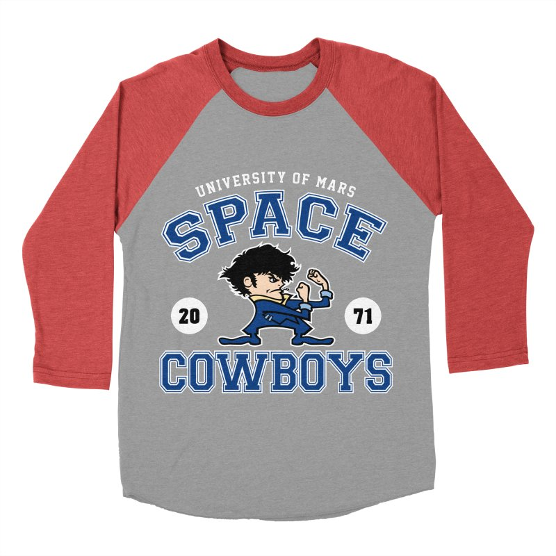 Space Cowboys Men's Baseball Triblend Longsleeve T-Shirt by machmigo1's Artist Shop