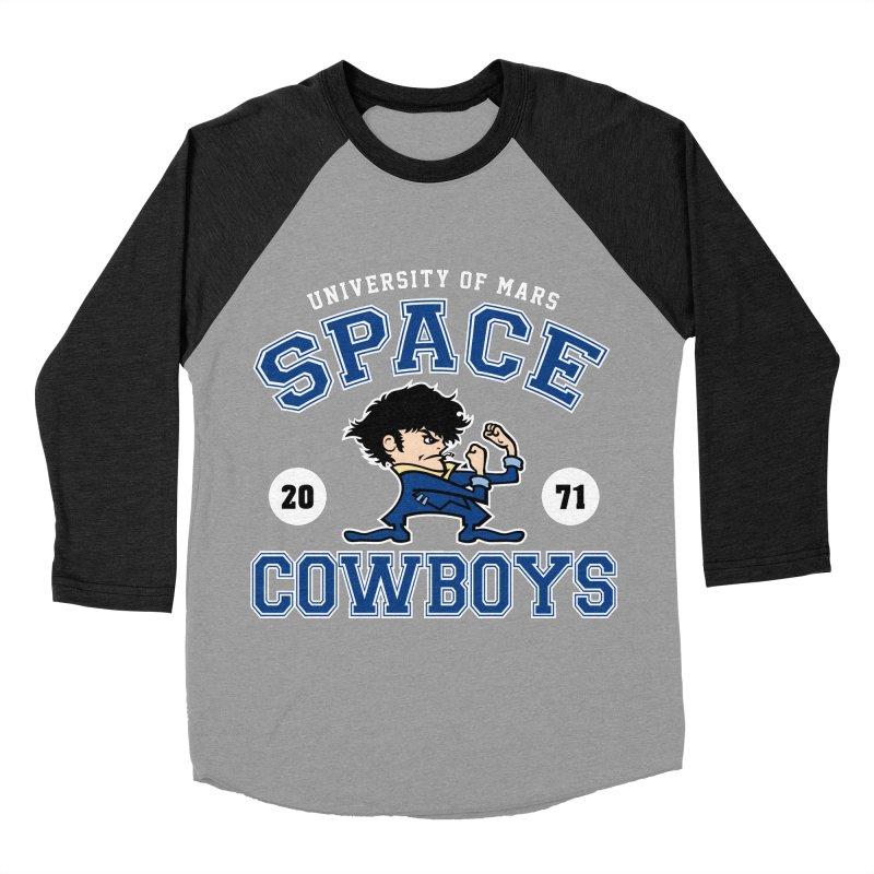 Space Cowboys Men's Baseball Triblend T-Shirt by machmigo1's Artist Shop