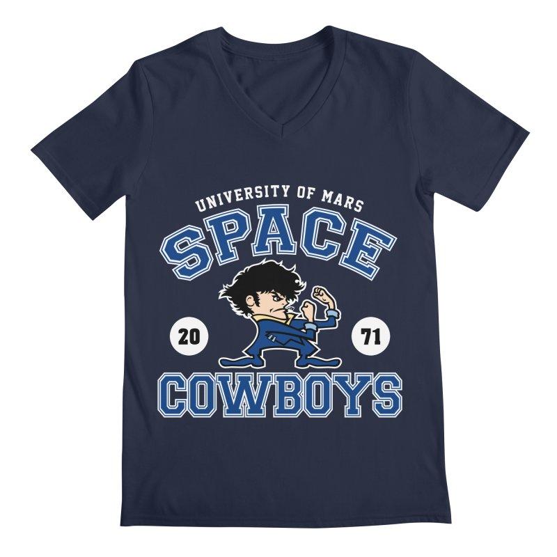 Space Cowboys Men's Regular V-Neck by machmigo1's Artist Shop