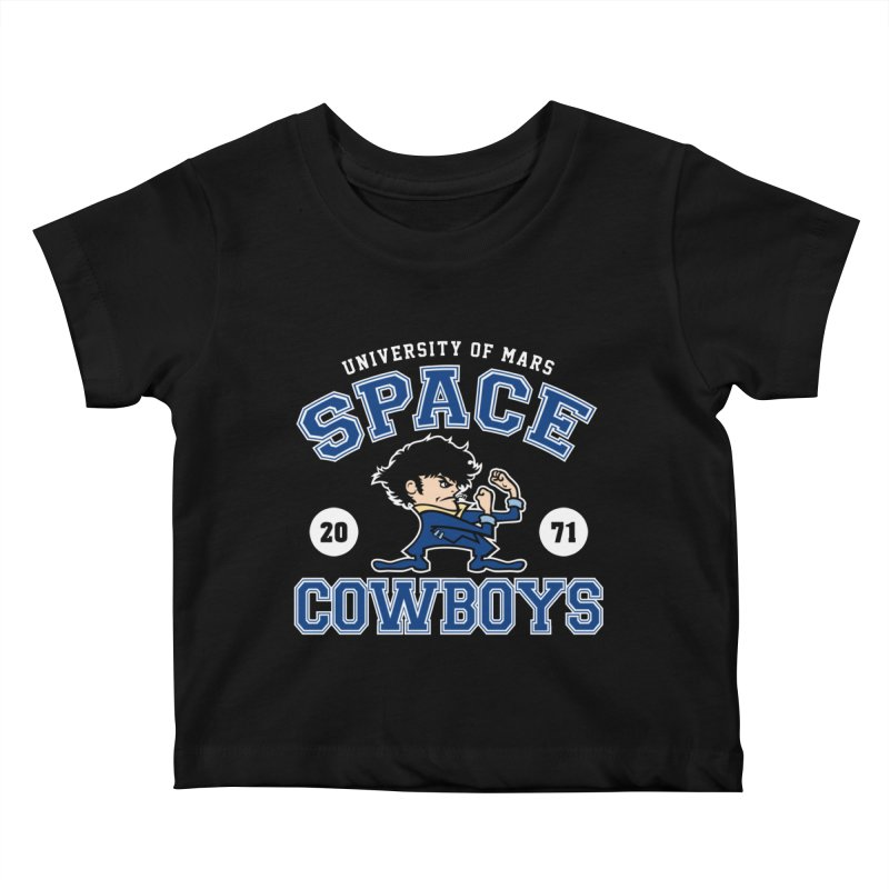 Space Cowboys Kids Baby T-Shirt by machmigo1's Artist Shop