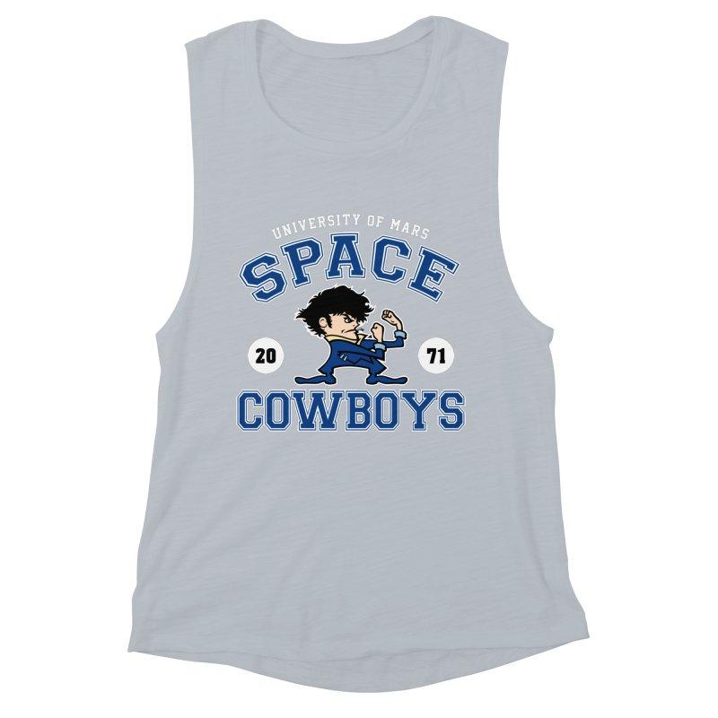 Space Cowboys Women's Muscle Tank by machmigo1's Artist Shop