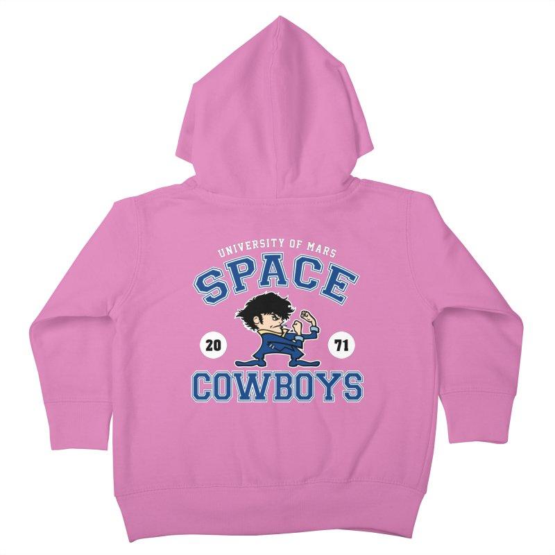Space Cowboys Kids Toddler Zip-Up Hoody by machmigo1's Artist Shop