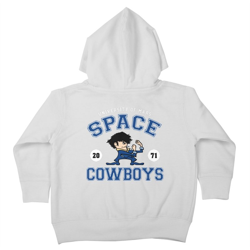 Space Cowboys Kids Toddler Zip-Up Hoody by machmigo1's Artist Shop