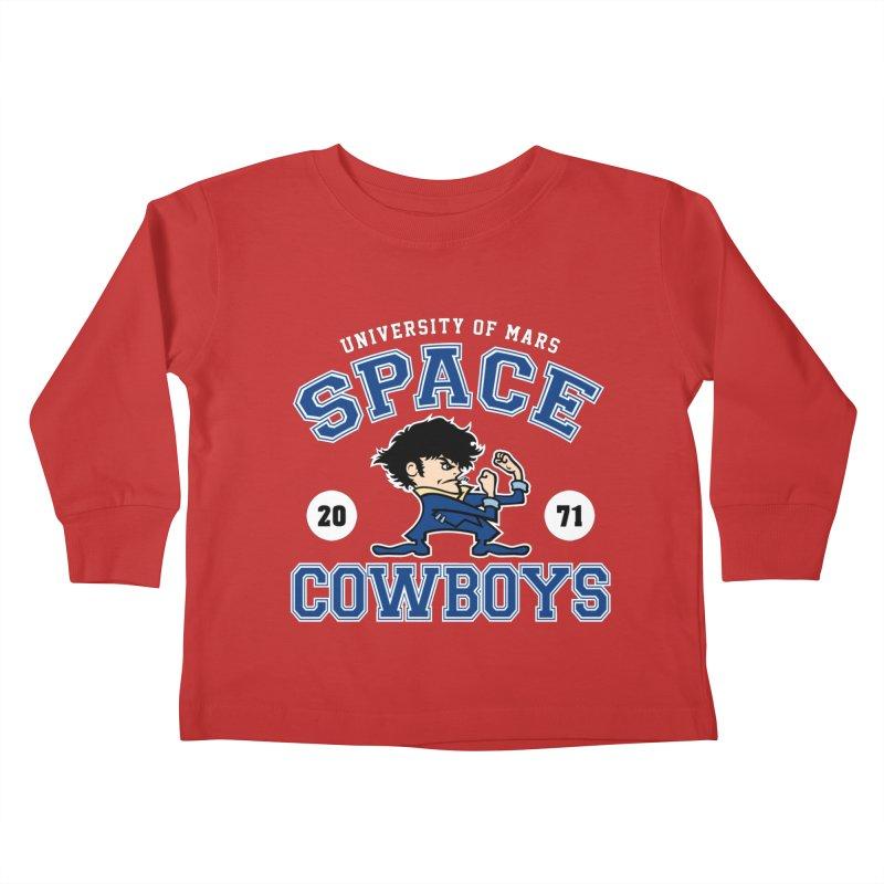 Space Cowboys Kids Toddler Longsleeve T-Shirt by machmigo1's Artist Shop