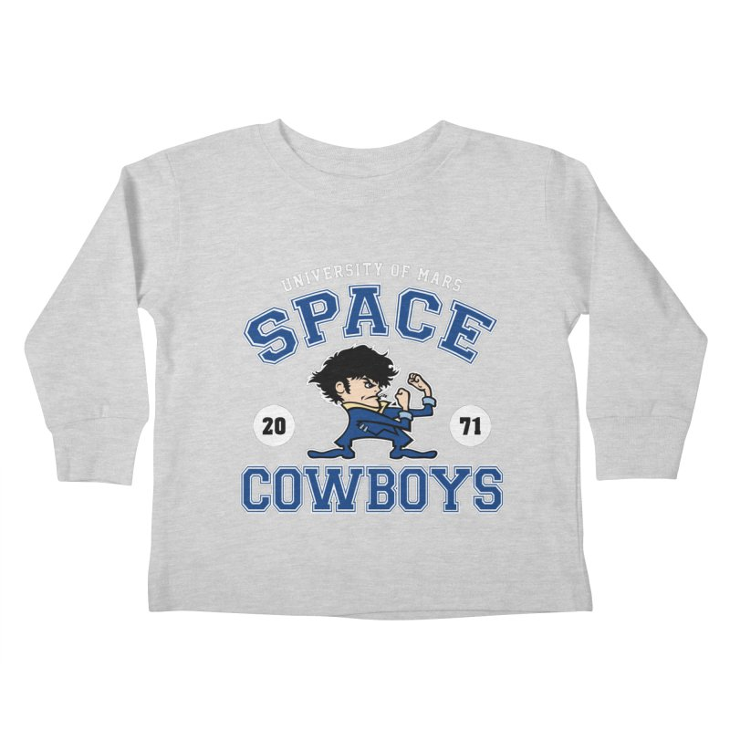 Space Cowboys Kids Toddler Longsleeve T-Shirt by machmigo1's Artist Shop