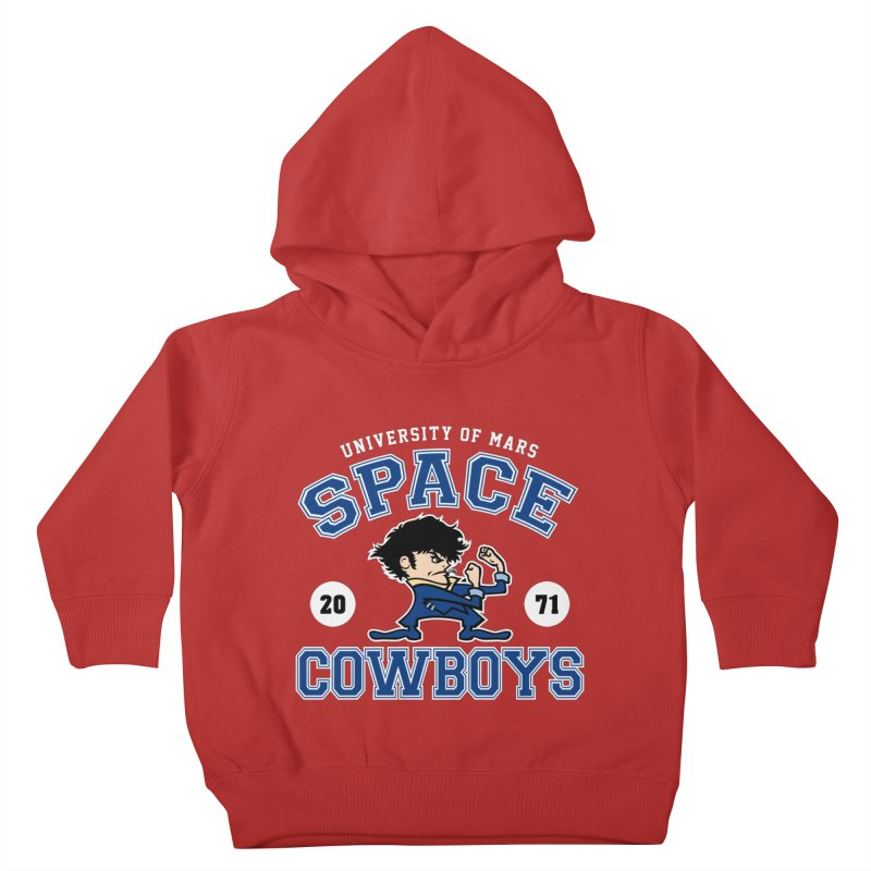 Space Cowboys Kids Toddler Pullover Hoody by machmigo1's Artist Shop
