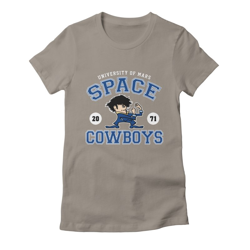 Space Cowboys Women's Fitted T-Shirt by machmigo1's Artist Shop