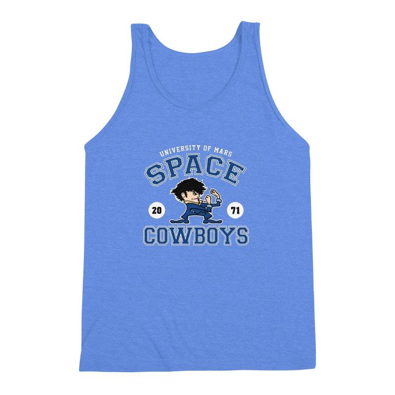 Space Cowboys Men's Triblend Tank by machmigo1's Artist Shop