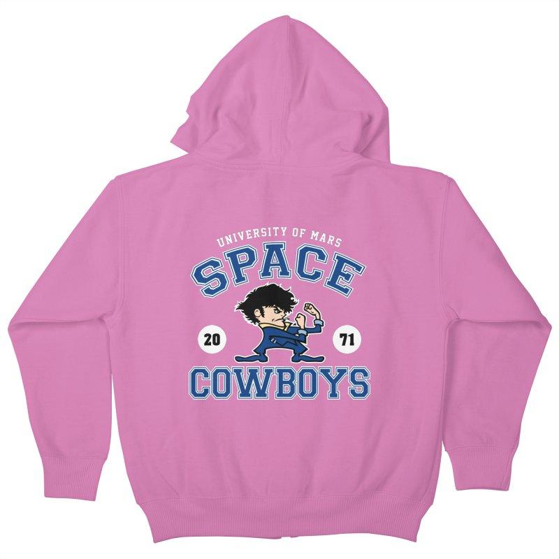 Space Cowboys Kids Zip-Up Hoody by machmigo1's Artist Shop